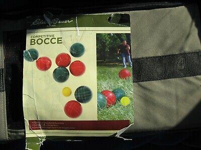 Backyard Goplus Bocce Outdoor Ball Set with 8 Balls Pallino Lawn Bowling Games