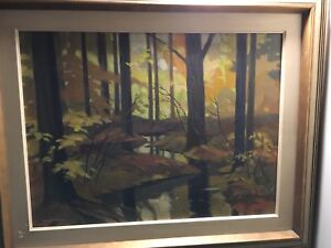 Woodland Clearing Painting