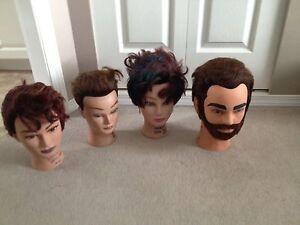 Manequin Judy head dolls