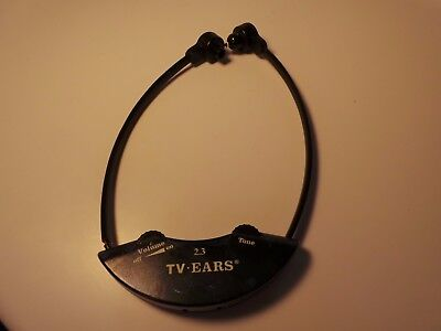 Tv Ears Dr  Recommended Tv Listening Device 2 3Mhz Headset Only