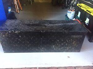 Black galvanised toolbox - NEGOTIATE Maylands Bayswater Area Preview