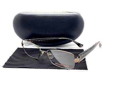 Michael Kors MK499 239 Brown Flex Hinge 54/16/135 Metal (Michael Kors Prescription Glasses)