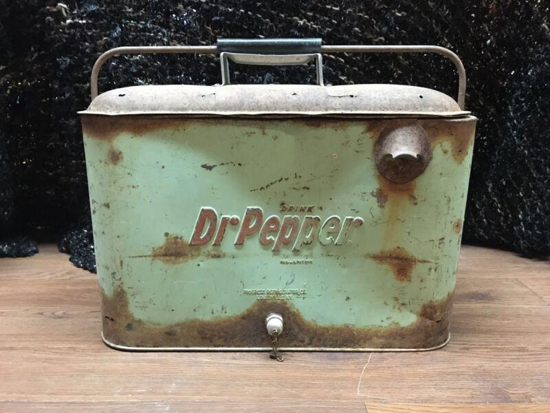Vintage Dr Pepper Cooler By Progress Refrigerator Louisville Kentucky