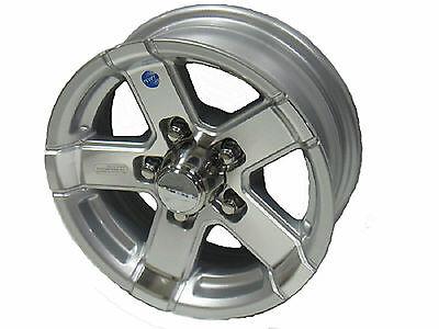 "14"" 5 Lug Series 07 Silver Hispec Aluminum Trailer Wheel camper rv boat acc"
