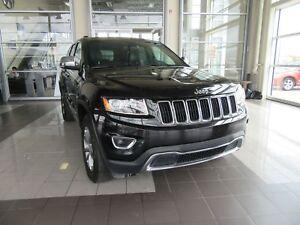 2016 Jeep Grand Cherokee Limited 4X4, LEATHER, SUNROOF, BLUET...