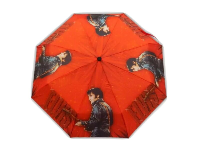 Elvis 68 Comeback Umbrella / Direct From Memphis / Graceland