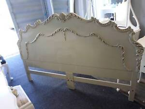 ♥ STUNNING KING SIZE FRENCH PROVINCIAL CARVED BED HEAD ONLY ♥ Tingalpa Brisbane South East Preview
