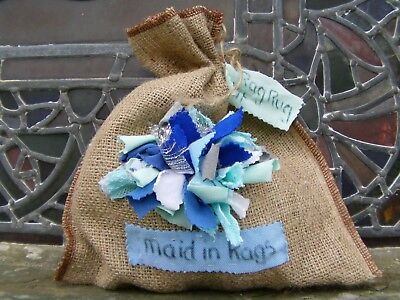 Rag rug making starter kit with DVD & instructions- ideal gift