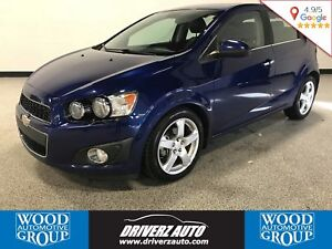 2012 Chevrolet Sonic LTZ TURBO, 6 SPEED, Financing Available!!!