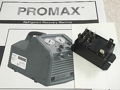 Tank Full Relay 8 Terminals Refrigerant Recovery Unit Promax Rg6000