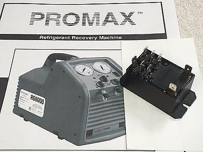 Tank Full Relay 8 Terminals Refrigerant Recovery Unit Promax Rg6000