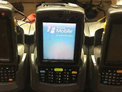 Motorola Symbol N410 Portable Barcode Scanner W Battery Pack Stylus Works