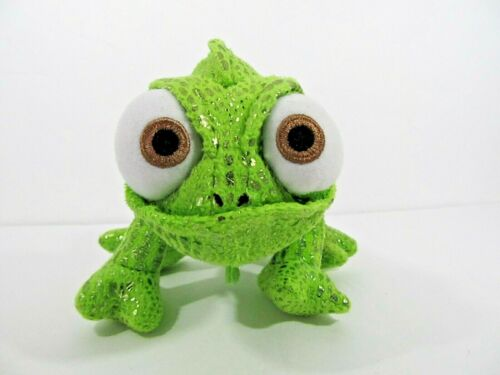 """Disney Store 8"""" PASCAL Chameleon FROM TANGLED Stuffed Animal PLUSH SOFT TOY"""