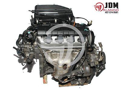 01-05 HONDA CIVIC 1.7L SOHC VTEC ENGINE JDM D17A  for sale  Orlando