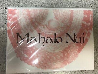 Kanaka Prints Designer Hawaiian Stationary shell leis