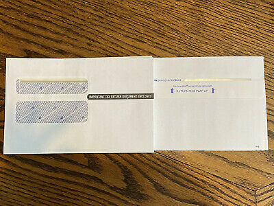 W-2 Envelopes 8.75x5.5 25pack-brand New-touch N Seal