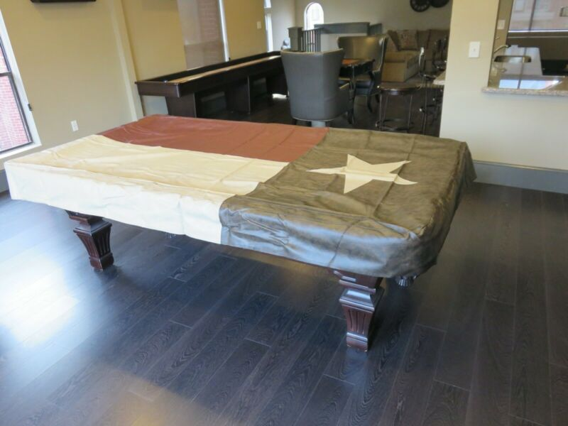 Texas Flag Pool Table Cover 8FT by -MSRP $225