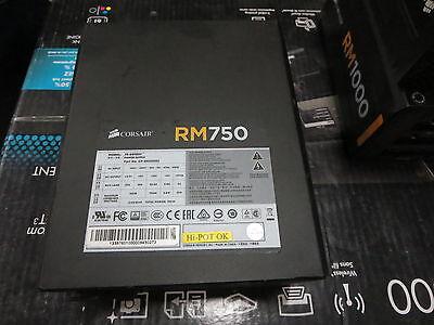 Corsair RM750 PSU Power Supply 750 Watt 80 PLUS® Gold Certified Fully Modular PS