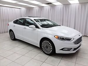 2017 Ford Fusion SE ECOBOOST AWD SEDAN w/ BLUETOOTH, HEATED LEAT
