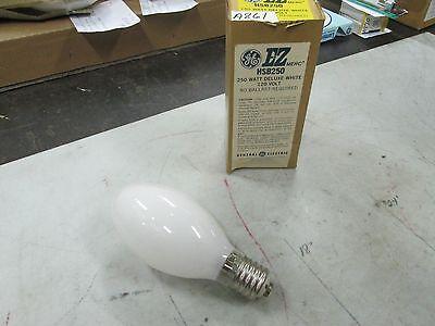 Ge 250 Watt Deluxe White Ez Merc 120v Bulb Hsb250 Incandescent Lot Of 2 Nib