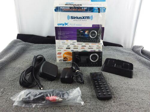 SiriusXM (SXPL1H1) Onyx Plus Satellite Radio Receiver, Home Kit - Black - Used