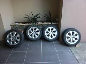 """HONDA ACCORD EURO 16"""" ALLOYS AND TYRES - SET OF 4 Mount Gravatt Brisbane South East Preview"""