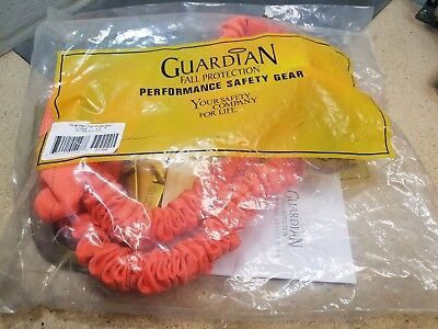New Guardian Fall Protection 01298 4.5-6 Str4.5-6-2r Double Lanyard