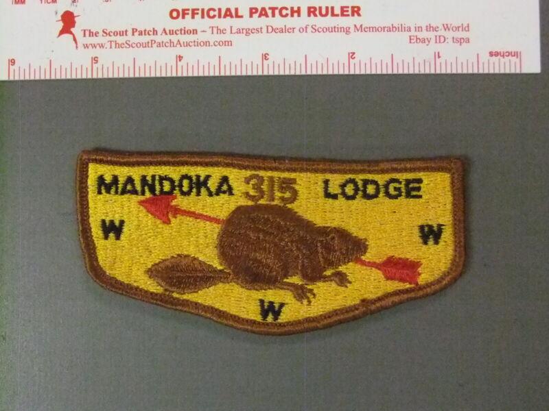 Boy Scout OA 315 Mandoka flap 7703JJ