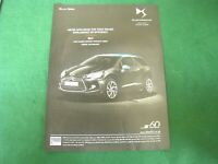 Citroen DS Advertising Poster A3  Reprint