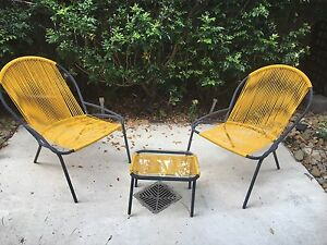 Replica Acapulco outdoor setting YELLOW Eatons Hill Pine Rivers Area Preview