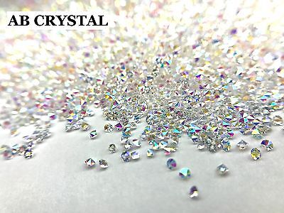 MICRO Pixie/colour: AB  CRYSTAL,SS1/1.1mm /1440 pc/Tiny nail art 3D Rhinestones