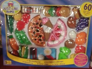 60 pieces plastic slice and play set for $15. Windsor Region Ontario image 1