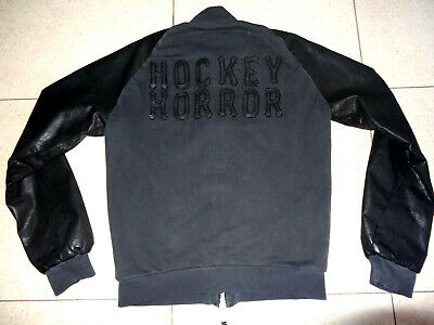 """Dsquared Jacket Leather Cotton """"Hockey Horror"""" size M Dsquared2 Masterpiece segunda mano  Ayagaures"""