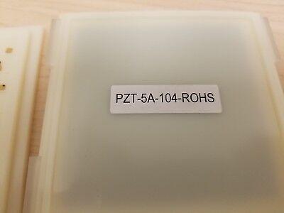 1 New Piece Of Bpo Piezoelectric Piezo Transducer Crystal 5mhz Pzt-5a-rohs Gold
