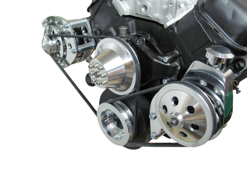 Short Water Pump Big Block Chevy Power Steering Bracket Saginaw SWP 427 454  BBC | Shopping Bin - Search eBay faster