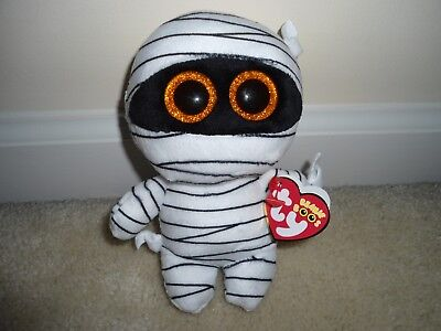 Ty, MUMMY Boo,NEW for 2017 MUMMY HALLOWEEN Release.Very Cute/Whimsical/VHTF,TPd!