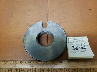 Southbend Lathe Heavy10 Dog Drive Plate Sfp-100l 214-8tpi 512dia Exc Cond