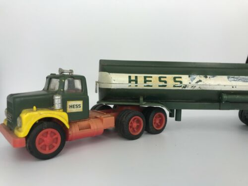 Vintage 1972 Hess Toy Tanker Truck Collectable