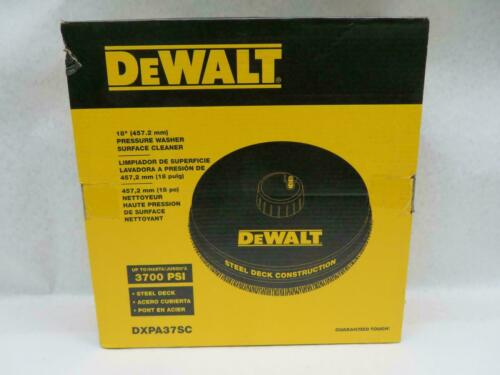 """DEWALT 18"""" Surface Cleaner for Gas Pressure Washers up to 3700psi - DXPA37SC NEW"""