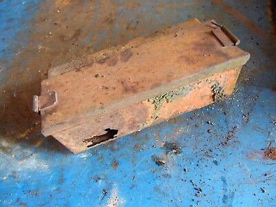 Allis Chalmers Styled Wc Gas Farm Tractor Tool Box Rust Damage Hard To Find