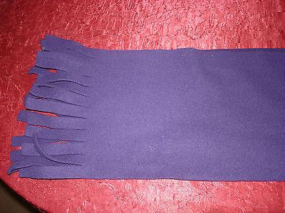 Fleece-Schal mit Fransen, lila, Gr.2, Sonni Modell, gebraucht, mit Tragespuren!!