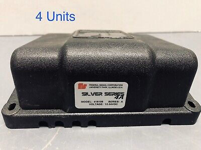 4-pack Federal Signal Silver Series 4a Strobe Light Power Supply
