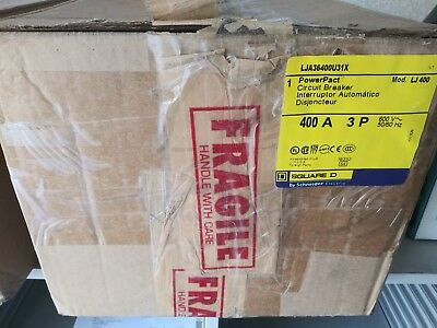 Square D Lja36400u31x 400 Amp Circuit Breaker New In The Box With Warranty