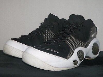 2007 Nike Air Zoom Flight 95 - Size 10.5 - Black - White - Jason Kidd