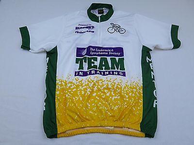 Womens Pyroapparel Team Leukemia Training Bike Cycling Jersey Large Shirt  MTB a3fb935ae