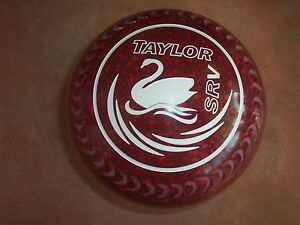 Thomas Taylor SRV Lawn Bowls Size 3H WB25 Gripped Red Speckle NEW Surfers Paradise Gold Coast City Preview