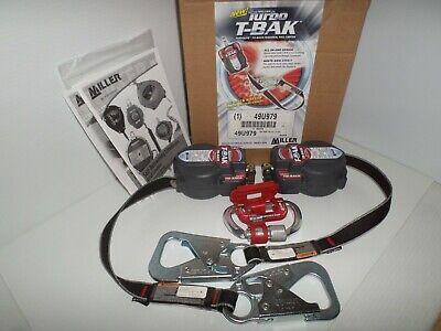 New Miller G2 Twin Turbo 7.5 T-bak Lifeline Fall Limiter Lanyard 400lb 49u979