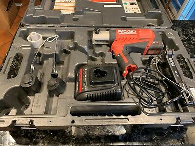Ridgid Rp240 Compression Tool Jma Framesets With Case Great Shape
