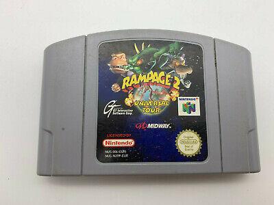 Rampage 2 für Nintendo 64 N64 - geprüfte Ware, schneller Versand