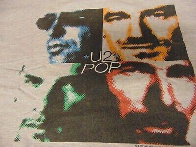 Usado, Rock T Shirt Vintage Authentic U2 POP Popmart Tour 1997 ~ Sz XL ~ 90s Rock ~ NEW comprar usado  Enviando para Brazil